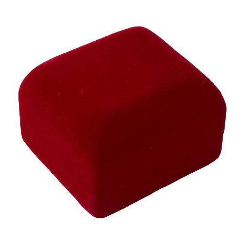 """Футляр """"Классика 3"""" под кольцо красный"""
