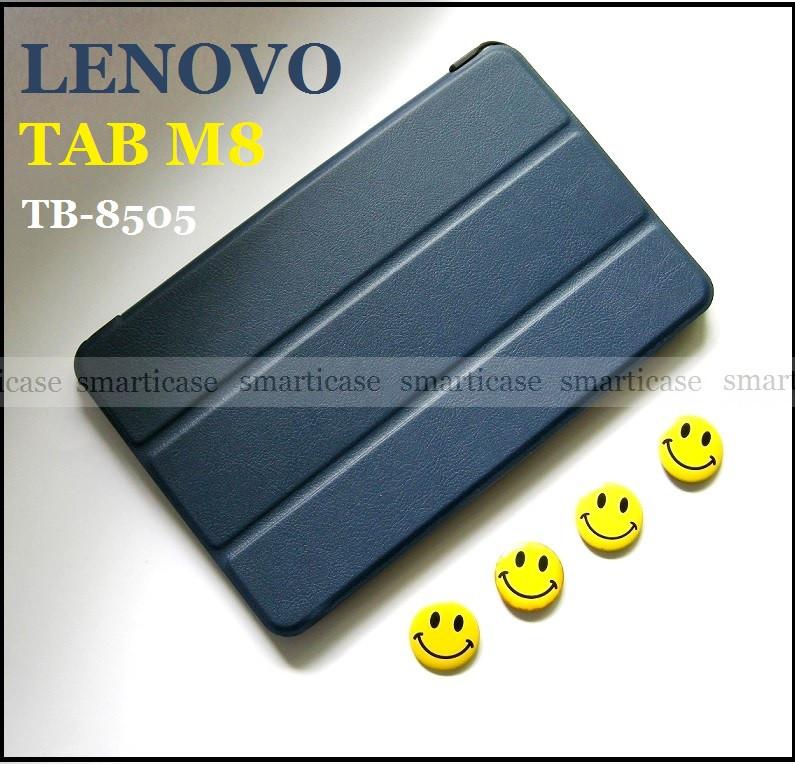 Чехол для планшета Lenovo Tab M8 HD Tb-8505F Tb-8505X темный синий с магнитами