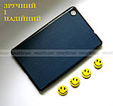 Чехол для планшета Lenovo Tab M8 HD Tb-8505F Tb-8505X темный синий с магнитами, фото 7