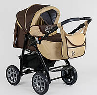 Детская коляска - трансформер Viki Karina (Карина) С90 - коричневая