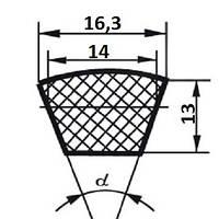 Ремень зубчатый XPВ -1220