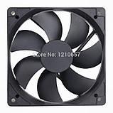 Gdstime 4Pin 2500 об/хв фірмовий гідравлічний вентилятор охолодження для комп'ютерного корпусу 120х25х120мм, фото 3