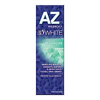 Зубная паста AZ 3D White Revitalize Отбеливающая для чувствительных зубов, 75мл