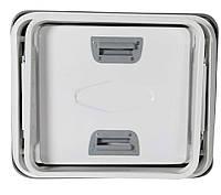 Автомобильный люк металлический 50x50, Турция, фото 1