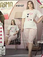 Пижама комплект футболка бриджи Турция