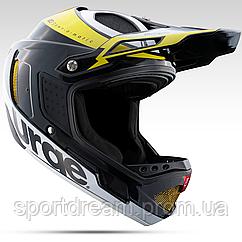 Шлем Urge Down-O-Matic черно-желто-белый L (59-60см)