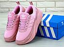 Жіночі Кросівки Adidas Shark full Pink, фото 5