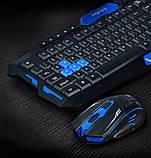 Комплект беспроводная клавиатура и мышь HK-8100, фото 7
