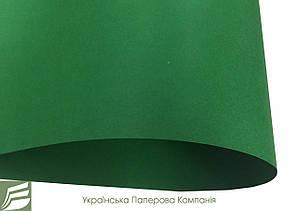 Дизайнерський картон Amazone, зелений матовий, 250 гр/м2
