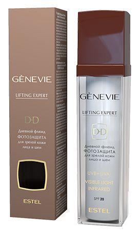 Дневной флюид-фотозащита для зрелой кожи лица и шеи SPF 20 Estel GENEVIE Lifting Expert Объём: 50 мл