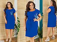 Летнее шикарное легкое платье Большого размера. Стильное летнее платье большого размера. Красивое платье женское большого размера. Платье большого