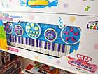 Игрушка детская синтезатор 3707A-8A 37 клавиш с микрофоном, фото 3