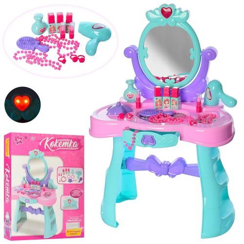 """Трюмо детское """"Кокетка"""" светится, звуковые эффекты, туалетный столик, зеркало 008-937"""