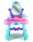 """Трюмо детское """"Кокетка"""" светится, звуковые эффекты, туалетный столик, зеркало 008-937, фото 4"""