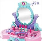 """Трюмо детское """"Кокетка"""" светится, звуковые эффекты, туалетный столик, зеркало 008-937, фото 5"""