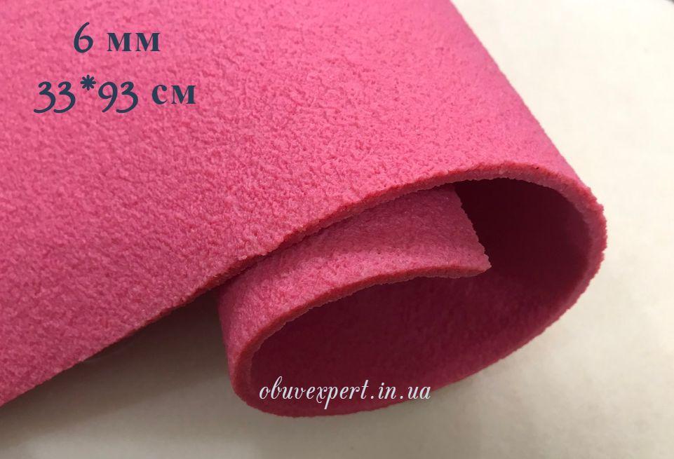 Подошвенный каучук 33*93 см, толщ. 6 мм, красный