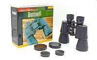 Бинокль BUSHNELL 20х50 TY-2702 (пластик, стекло, PVC-чехол, черный)
