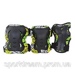 Защита (роликовые коньки) Tempish FID KIDS 3 пар.  чорний/S
