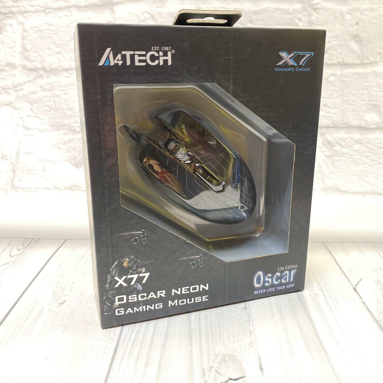 Мышь A4 Tech Oskar x77