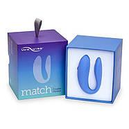 We-Vibe (Канада) Вибратор для пар WE-VIBE MATCH с пультом цвет: голубой  We-Vibe (Канада), фото 7