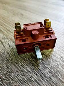 Перемикач електроплити MXT, AC-201A, 0+3 позицій (Туреччина)