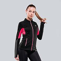 Женская спортивная кофта Peak FW67024-BLA XS Черная (6956251117834)