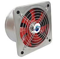 Настенный осевой вентилятор с обратным клапаном Турбовент НОК 350