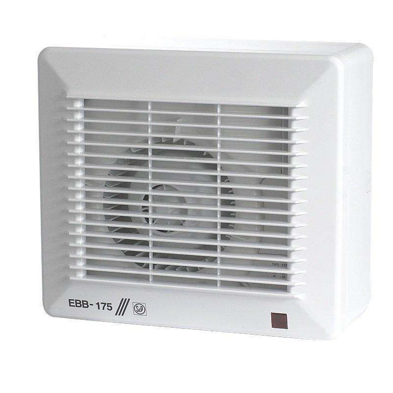 Центробежный вентилятор для ванной Soler&Palau EBB-175 S