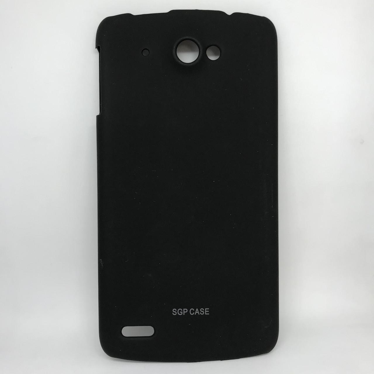 Чехол-накладка silicone Lenovo S920 black
