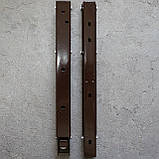 Консоль откидная 300 мм. коричневая, для раскладного стола., фото 6