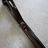 Консоль откидная 300 мм. коричневая, для раскладного стола., фото 7