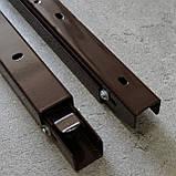 Консоль откидная 300 мм. коричневая, для раскладного стола., фото 5