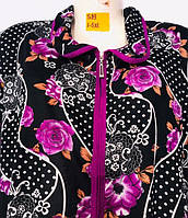 Халаты женские (XL-5XL) оптом купить от склада 7 км