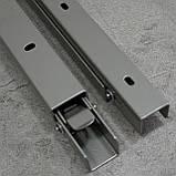Консоль откидная 300 мм. сатин, для раскладного стола., фото 5