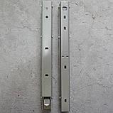 Консоль откидная 300 мм. сатин, для раскладного стола., фото 6