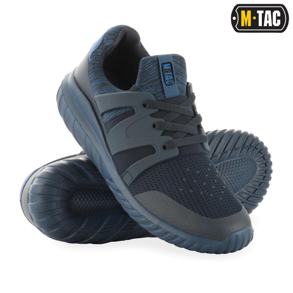 Кроссовки мужские тактические, обувь тактическая, кроссовки М-ТАС TRAINER PRO NAVY BLUE, обувь мужская спорт