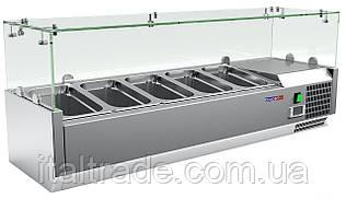 Витрина холодильная для топпинга Gooleq VRX 1200/330