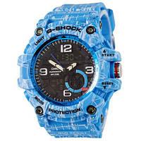 Casio G-Shock GG-1000 Mud-Light-Blue наручные часы женские мужские унисекс реплика