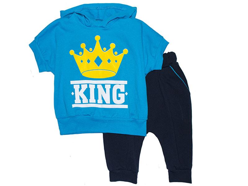 Комплект для мальчика футболка и бриджи King