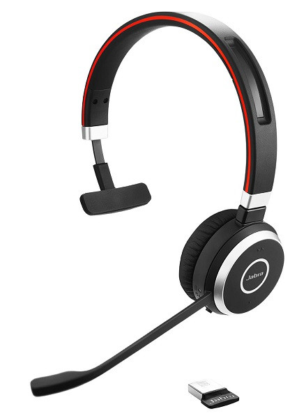Беспроводная Bluetooth гарнитура Jabra EVOLVE 65 MS Mono