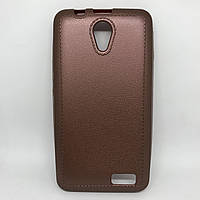Чехол-накладка silicone Lenovo A319 коричневый