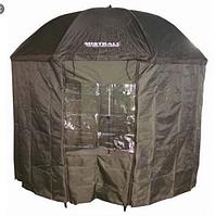 Зонт-палатка для рыбака Sams Fish окно ПВХ диаметр 2.5м
