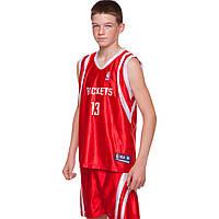 Форма баскетбольная подростковая Zelart NBA LAKERS 24 CO-0038 (PL, р-р M-XL, рост 135-155, цвета в ассортименте)