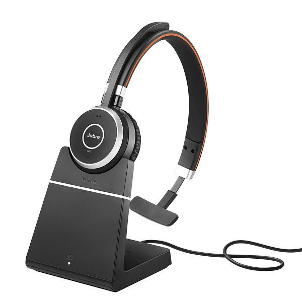 Беспроводная Bluetooth гарнитура Jabra EVOLVE 65 MS Stereo + База