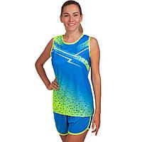 Форма для легкой атлетики женская LD-8310 (полиэстер, р-р S-3XL-145-175см, цвета в ассортименте)