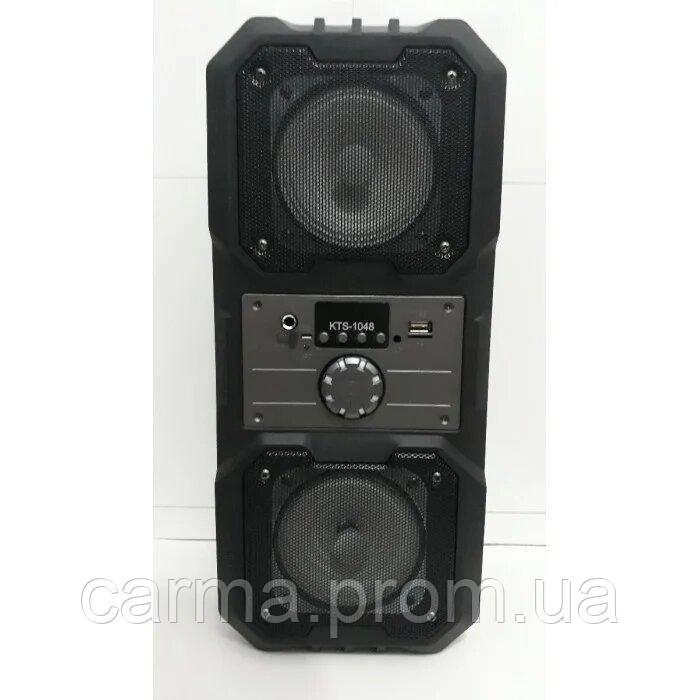 Беспроводная портативная Bluetooth колонка KTS 1048 BT Черная