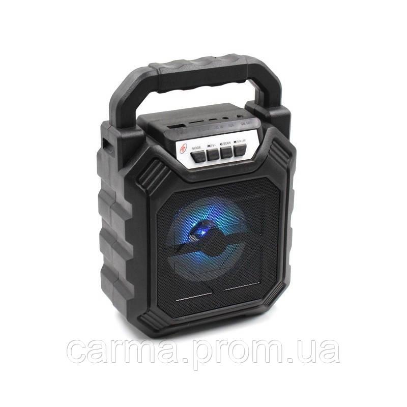Беспроводная портативная Bluetooth колонка YF-668BT Черная
