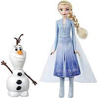 Disney Frozen 2 Холодное сердце 2 Эльза и интерактивный Олаф E5508 Talk and Glow Olaf and Elsa Dolls