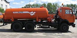 Вакуумная машина КО-505А на шасси КАМАЗ-53215