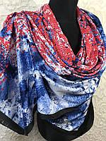 Шарф шелковый Брендовый UNGARO, фото 1